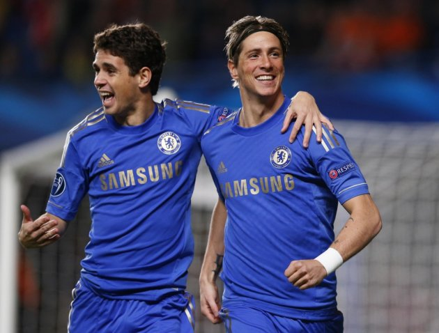 Oscar (L) and Fernando Torres