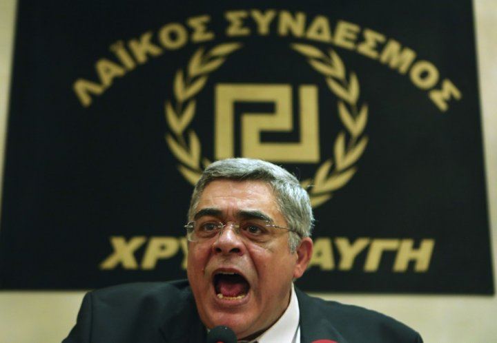Golden Dawn founder Nikos Michaloliakos (Reuters)