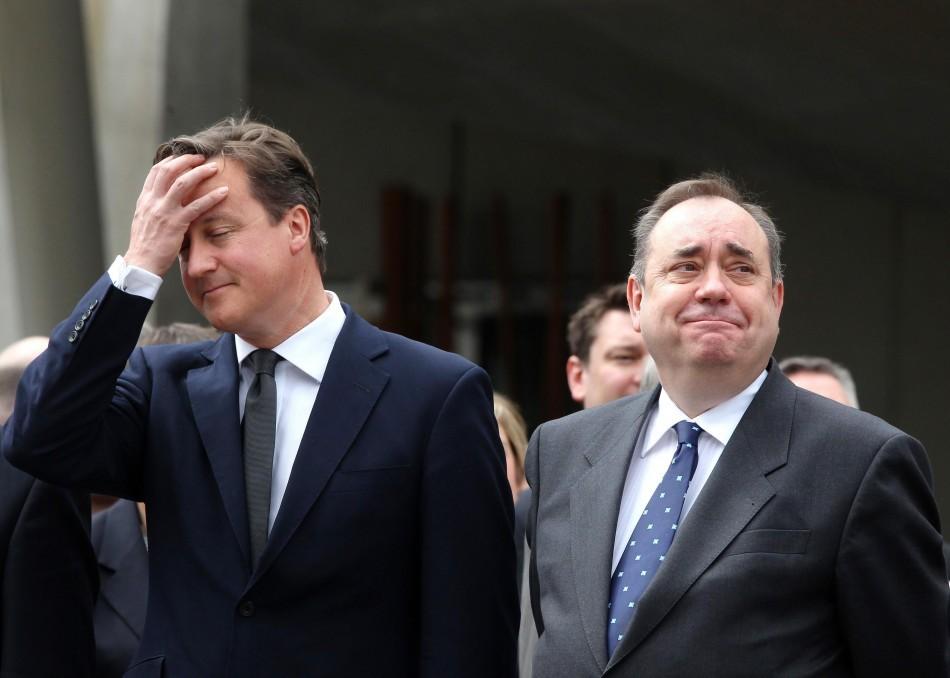 Cameron and Salmond