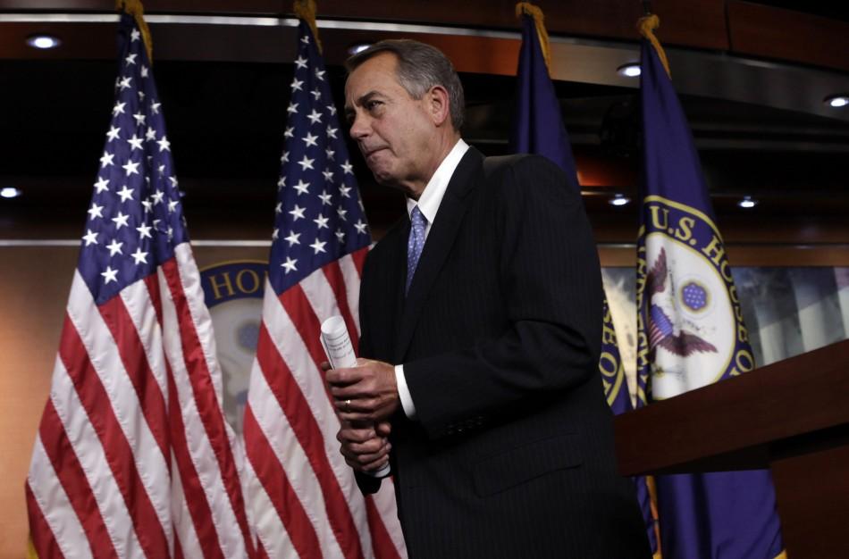 Republicans shelve backup plan to avert fiscal cliff crisis