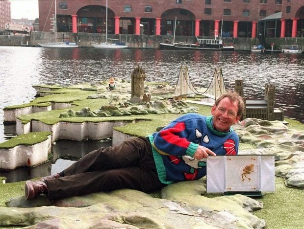 Fred Talbot presented the weather on ITV's This Morning (ITV)