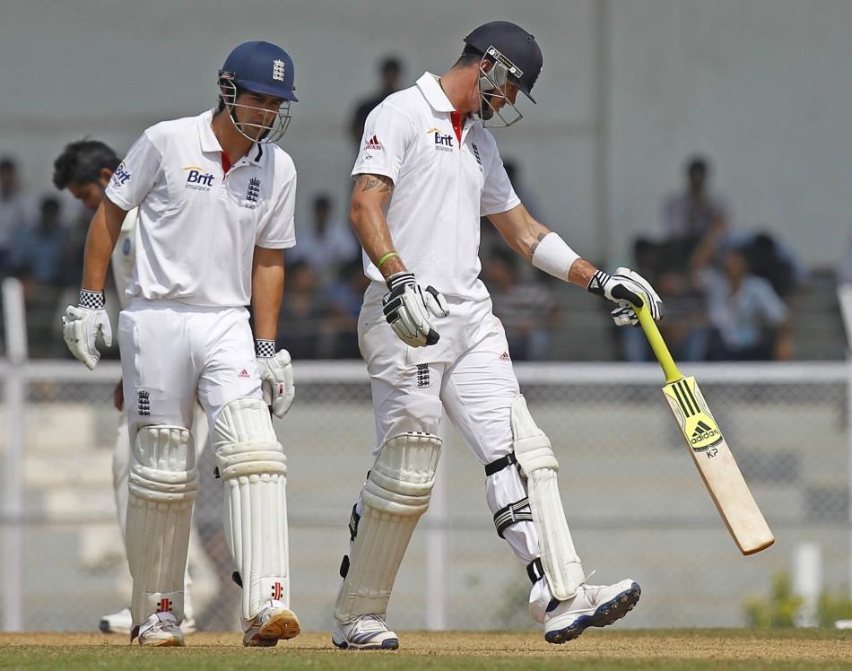Cook and Pietersen