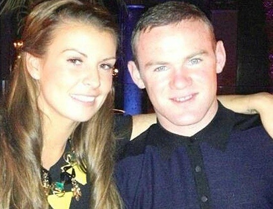 Coleena and Wayne Rooney