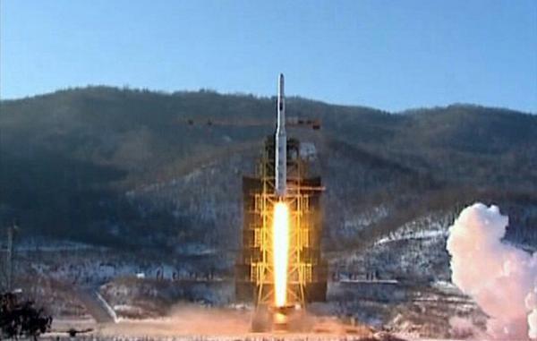 North Korean Rocket Launch