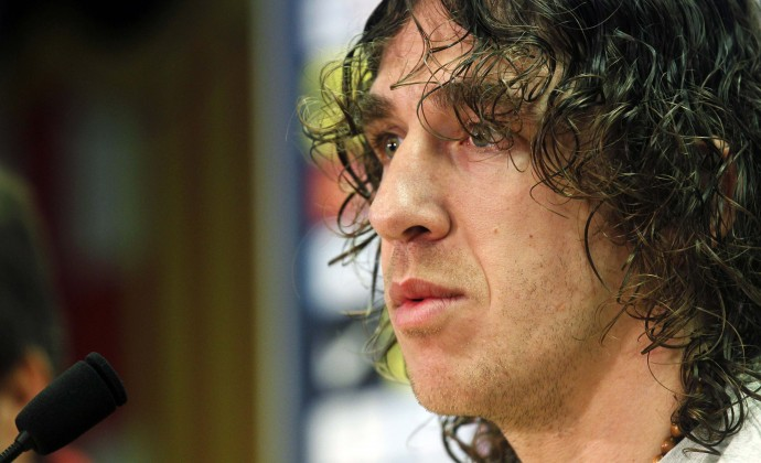 Carles Puyol has announced he will leave Barca at the end of the season.