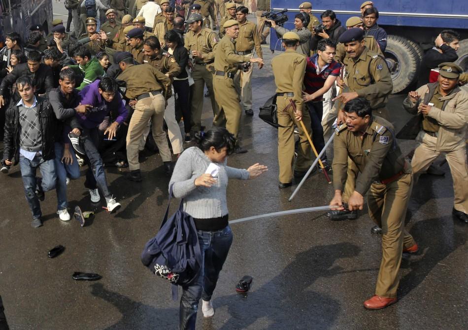 Delhi Rape Case Protest
