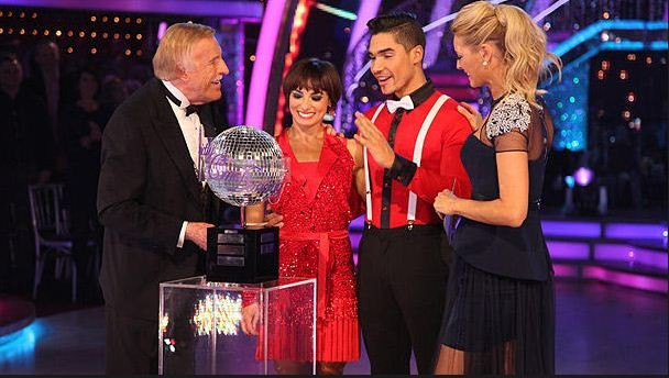 Olympic Gymnast Louis Smith has been crowned champion of this year's Strictly Come Dancing.