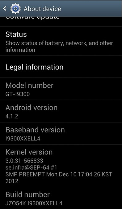 Upgrade Samsung Galaxy S3 with Official Premium Suite XXELL4 Android 4.1.2 Firmware [Guide]
