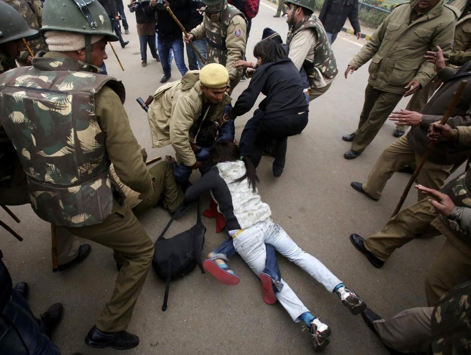 New Delhi gang rape protest pictures