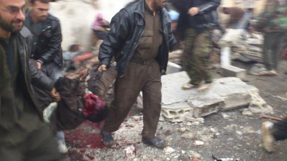 Syria bakery attack