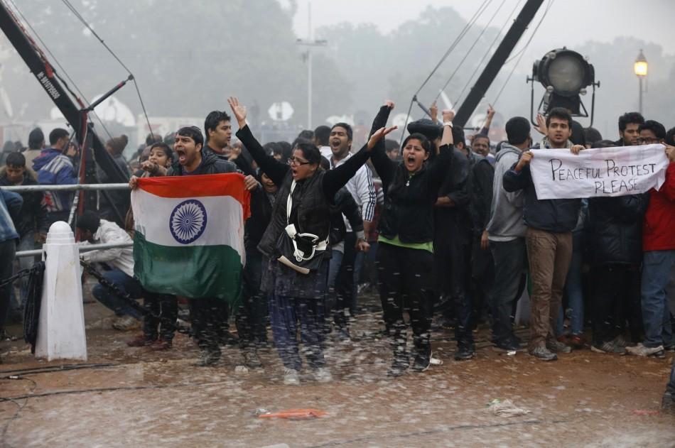 New Delhi gang rape protest