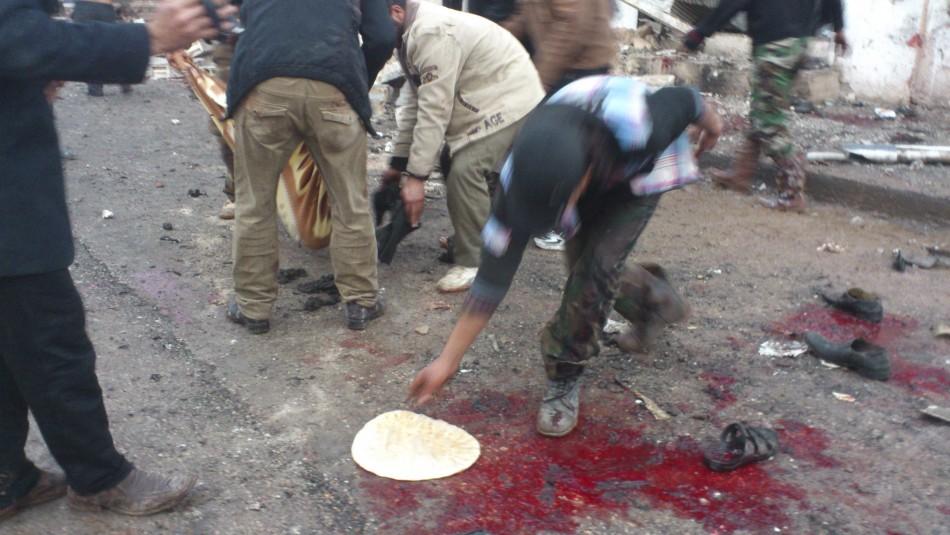 Syria blood
