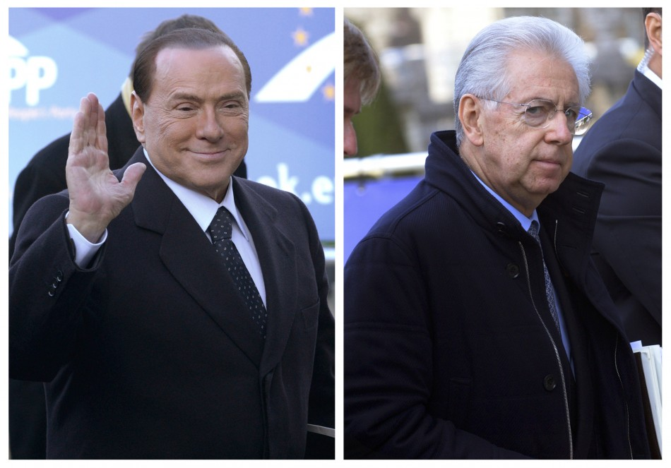 Berlusconi Monti