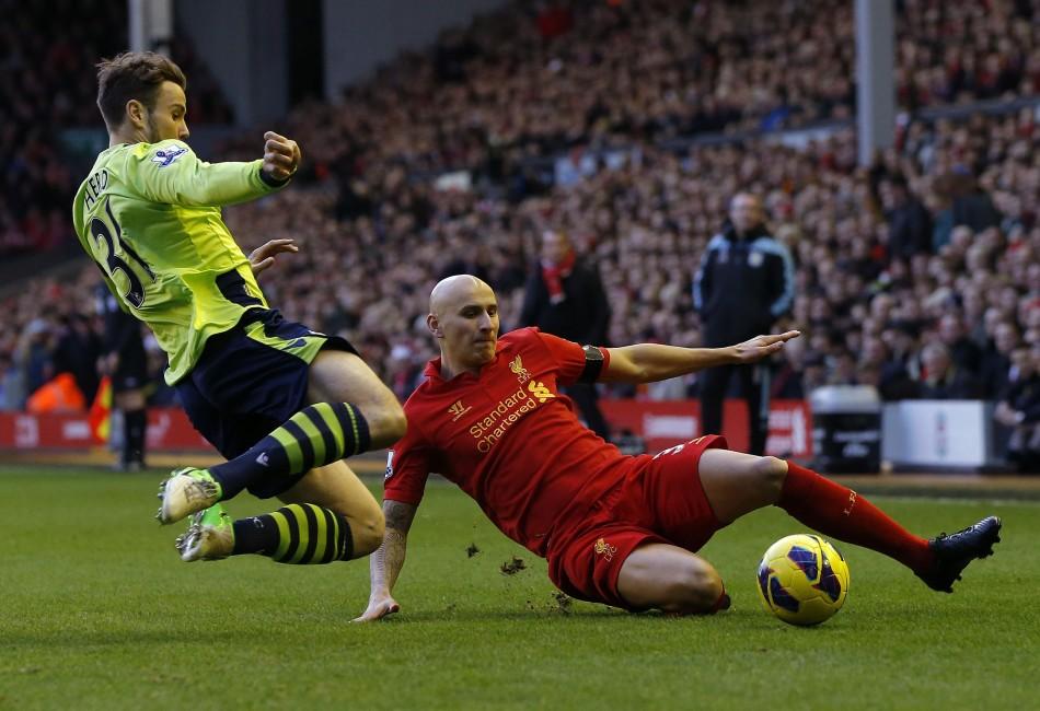 Liverpool v Aston Villa