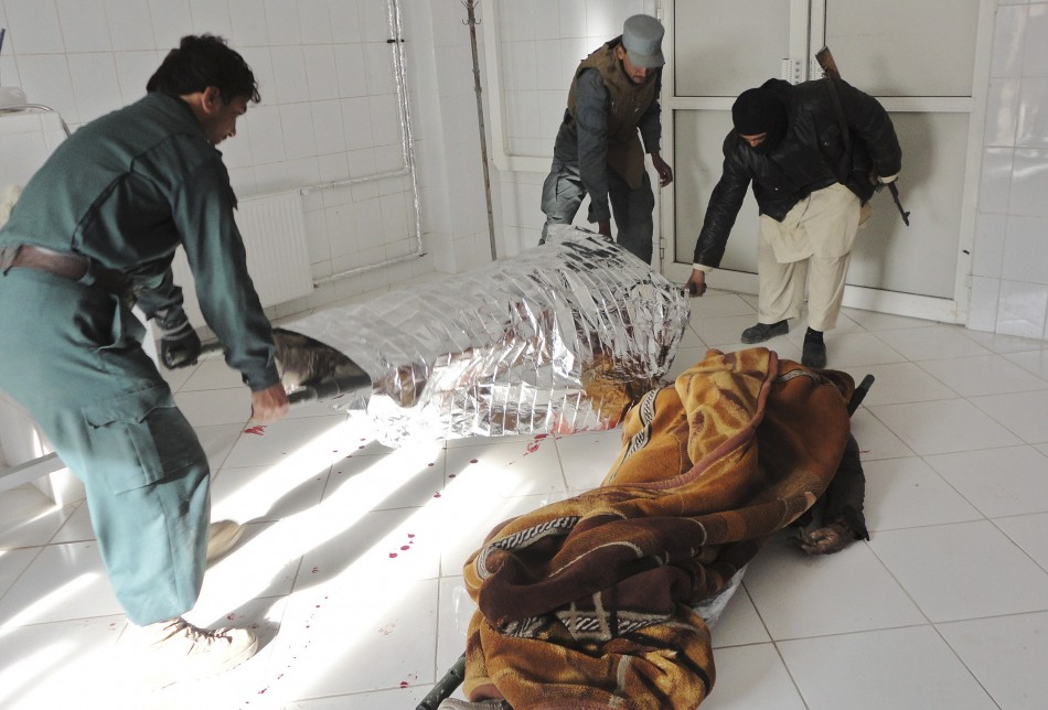 Afghan Taliban suicide attack