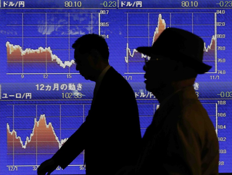 Asian markets ease ahead of Bank of Japan's policy meet.