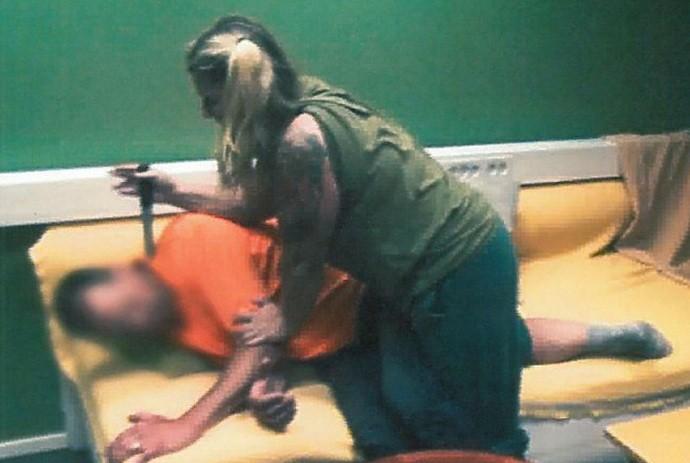 Javell recreates brutal slaying for Swedish police
