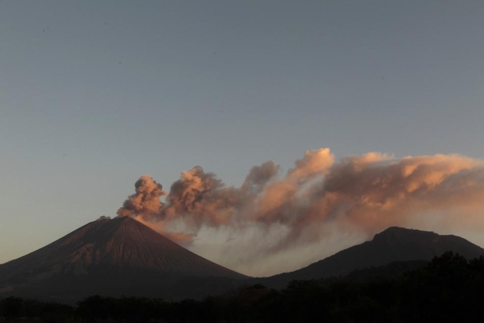 Nicaragua San Cristobal Volcano