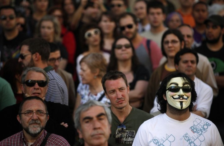 Anonymous in decline in 2013
