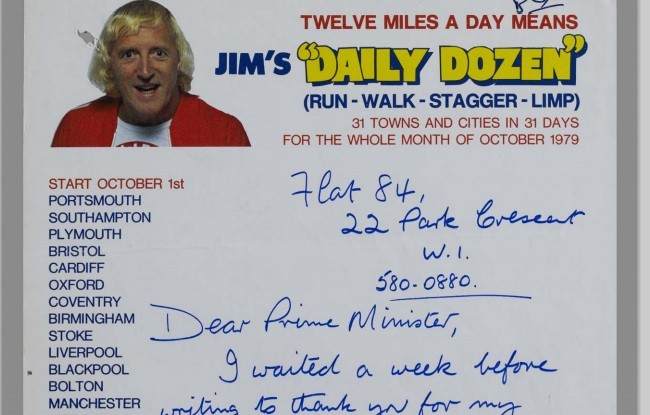 Savile lobbied PM for charity