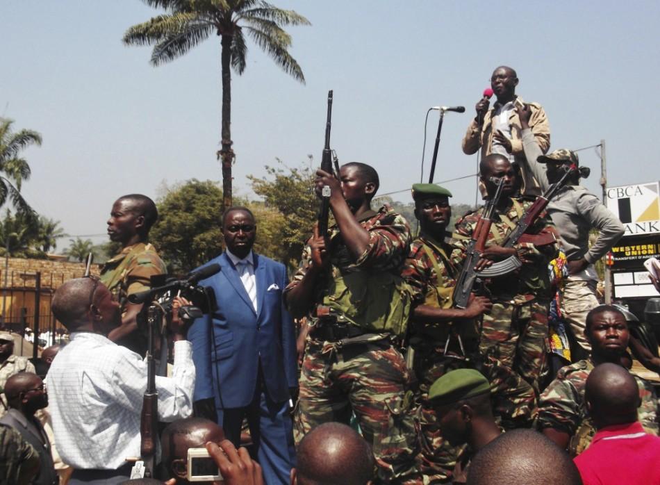 Central African Republic President Bozize