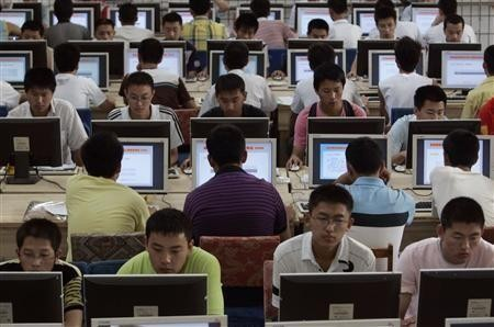 Internet use in China