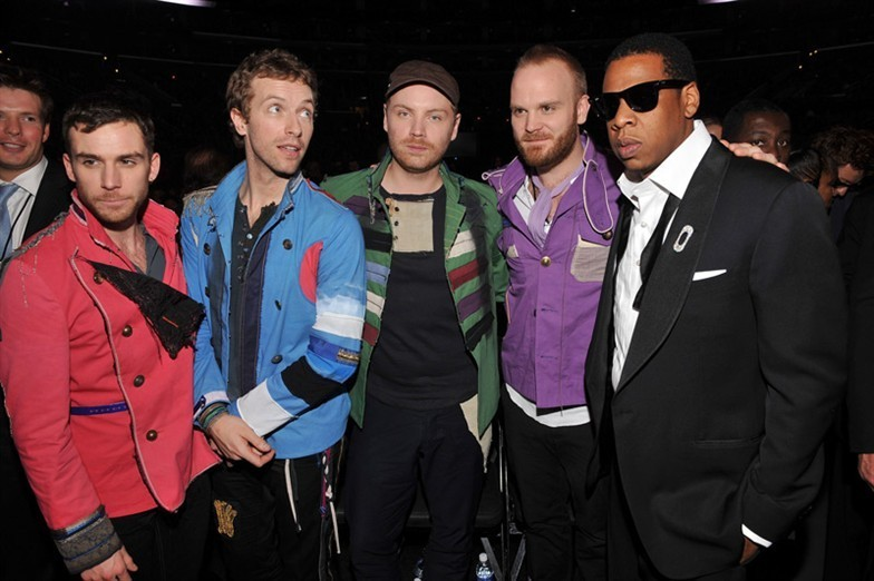 Jay Z and Coldplay