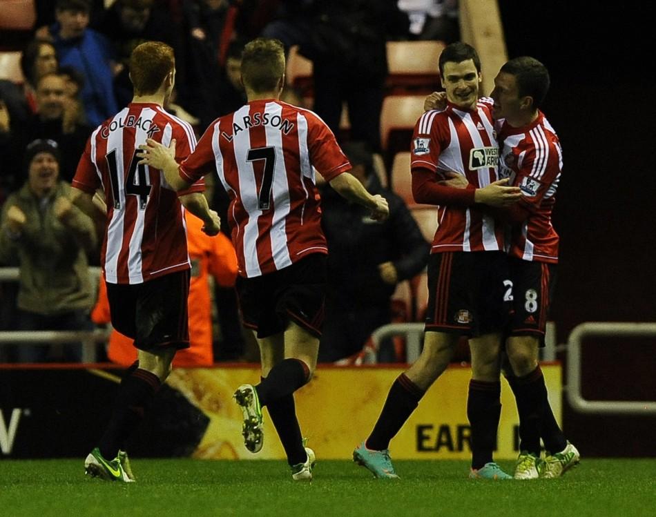 Sunderland v Manchester City