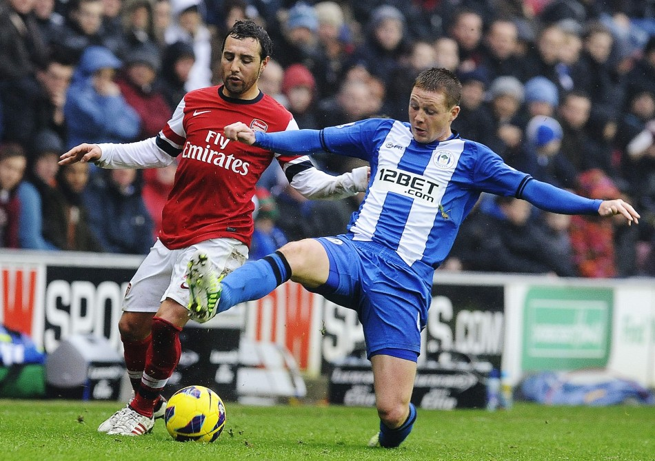 Wigan v Arsenal