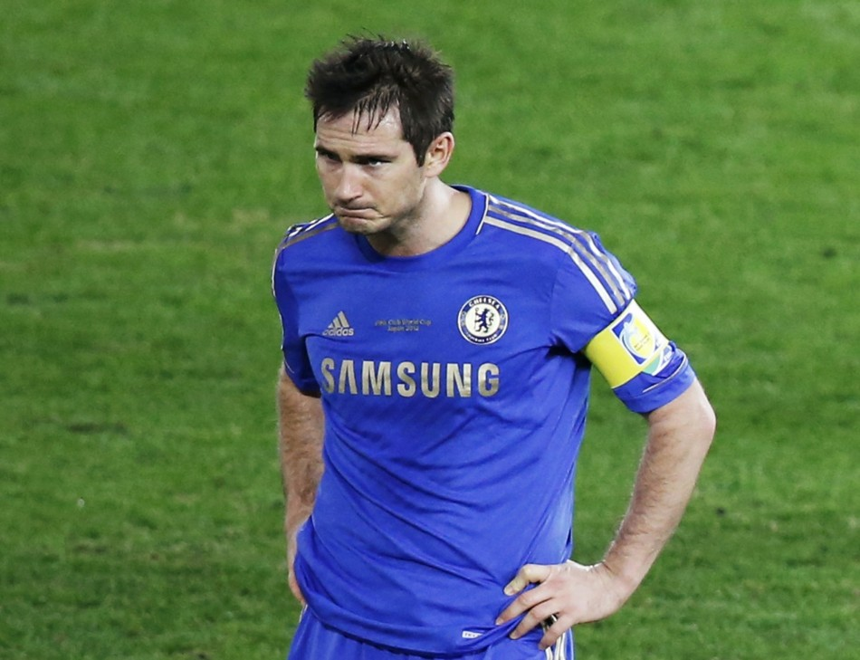 Frank Lampard Nears End of Chelsea Career
