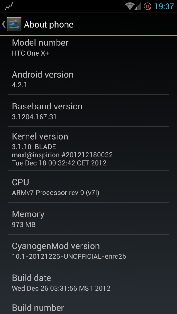 HTC One X Plus: Update with Android 4.2.1 Based CyanogenMod 10.1 Firmware [Guide]