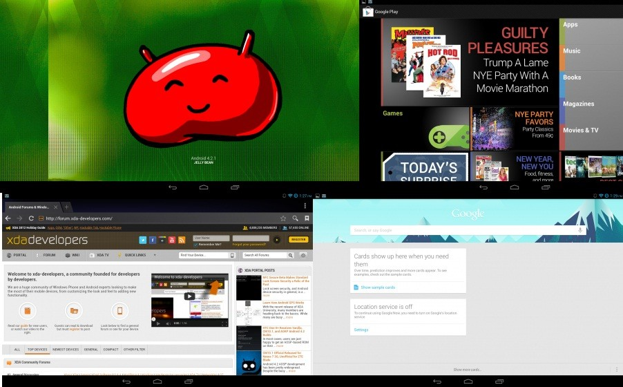 Android 4.2.1 Jelly Bean update