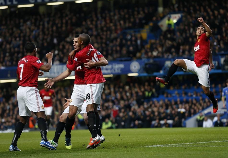 Manchester United Players Celebration