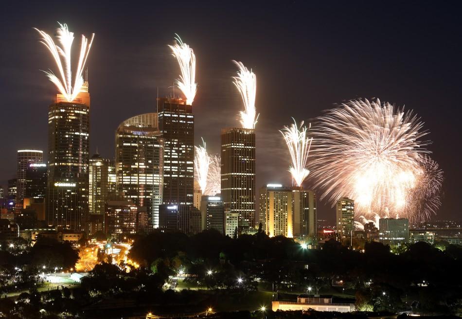 New Year S Eve 2012 Sydney Tokyo Seoul Hong Kong