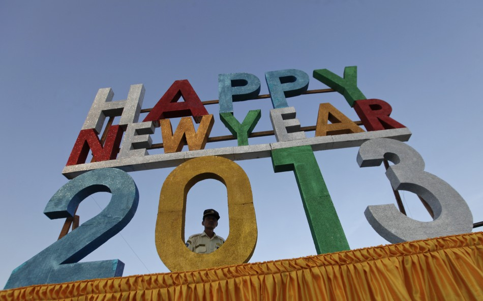 Myanmar New Year's Eve 2012