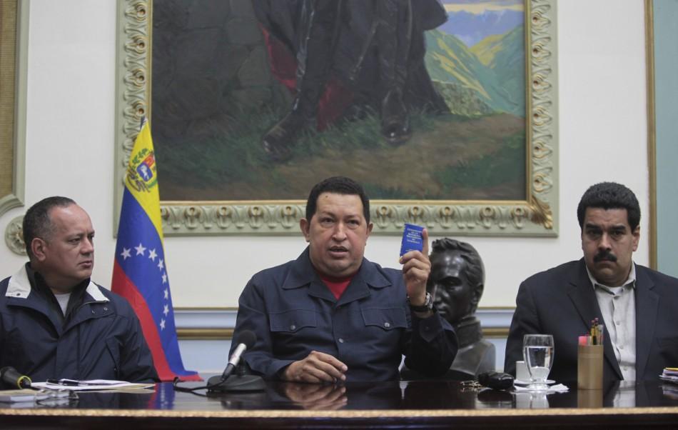 Chavez Cabello Maduro