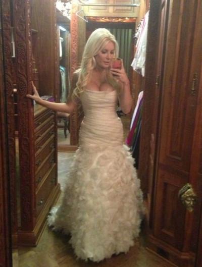 Crystal Harris Wedding Dress Her Romona Keveza Gown