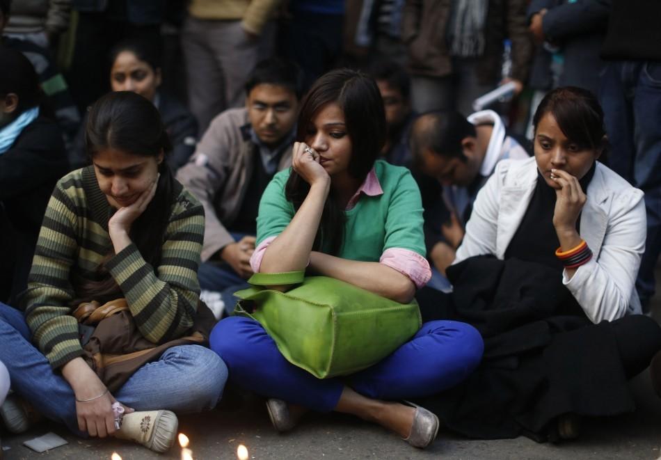 Protest gang rape victim New Delhi