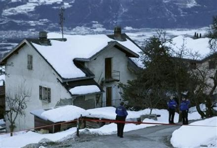 Three people died after a gunman opened fire in the Swiss village of Daillon (Reuters)