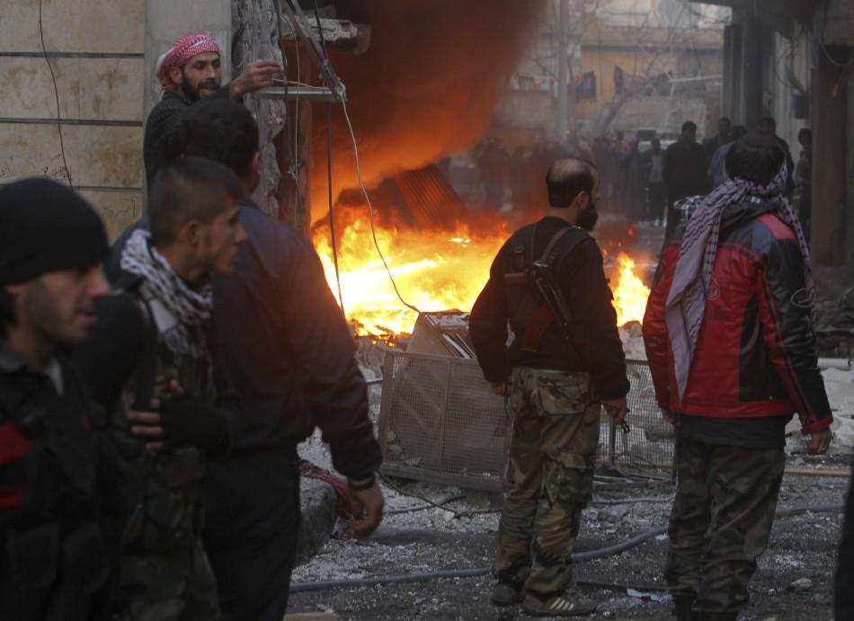 Syria civil war pictures
