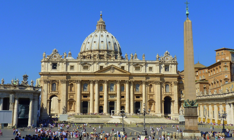 St Peter's Basilica in the Vatican City