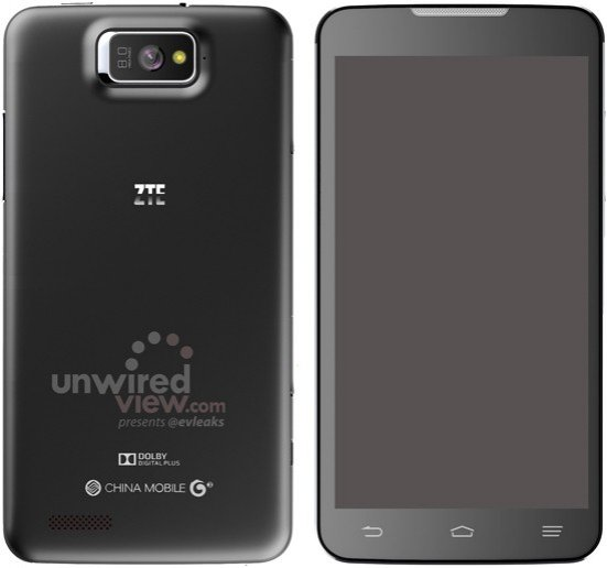 CES 2013: 5.7in ZTE P945 Smartphone Leaked Ahead of Launch [Photo]