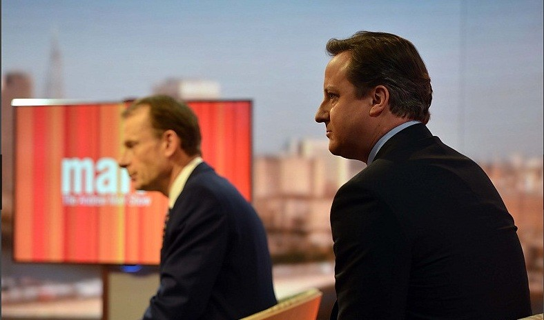 David Cameron and Andrew Marr