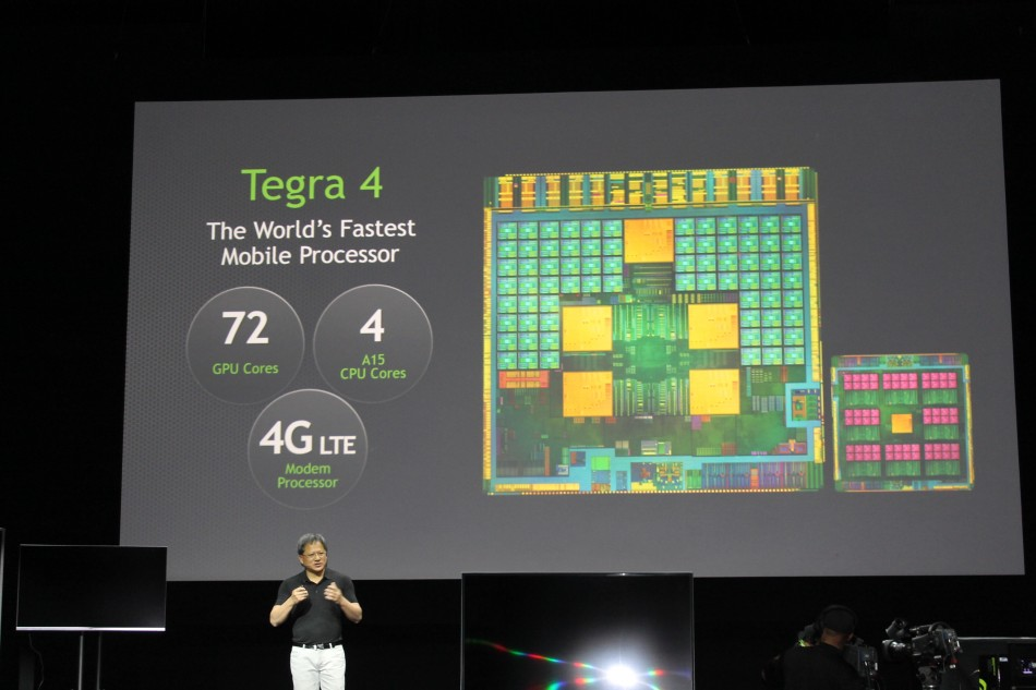 Nvidia Launches Tegra 4