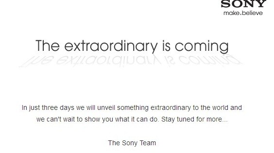 Mail from Sony