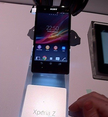 Sony Xperia Z (Engadget)