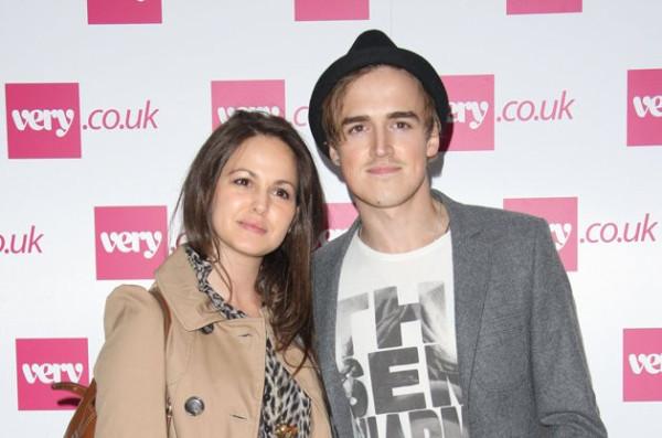Tom Fletcher and Giovanna Falcone