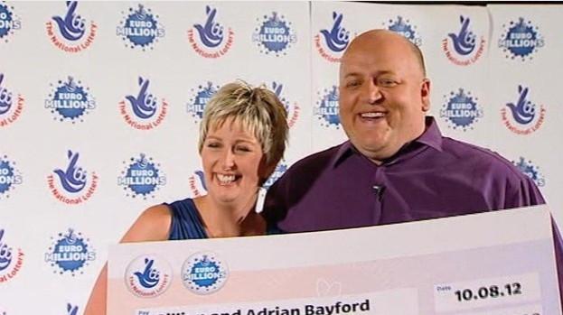 Adrian and Gillian Bayford