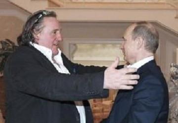 Gérard Depardieu Vladimir Putin