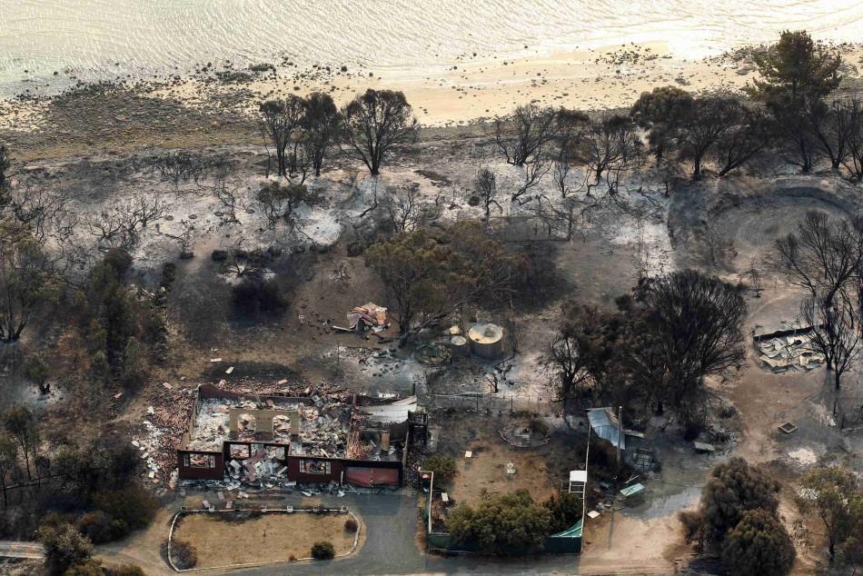 Austrlaia bushfires